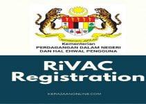 RiVAC : Registration/Pendaftaran Program Vaksinasi Barisan Hadapan Ekonomi Bagi Sektor Peruncitan